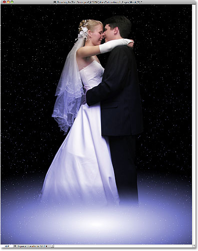 Photoshop Dancing In The Stars Effect.