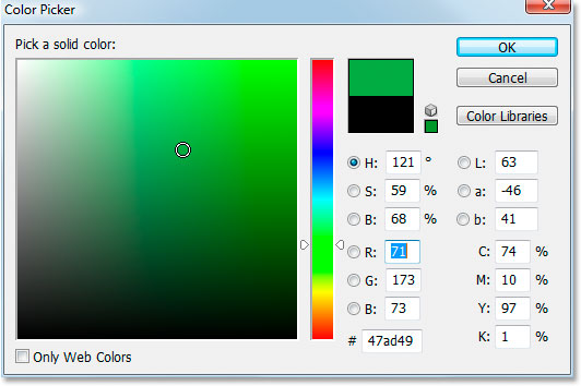 Photoshop's Color Picker