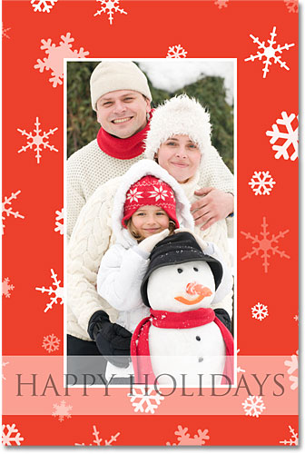 Photoshop Holiday Photo Border.