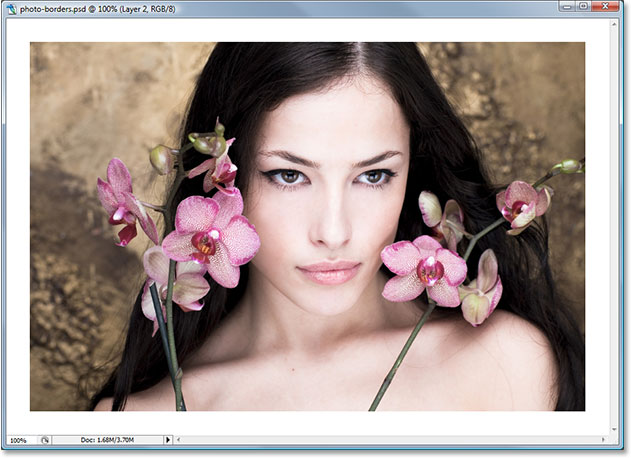 Adobe Photoshop tutorial image.