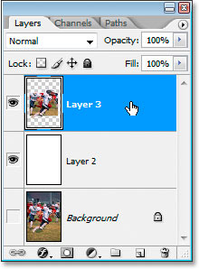 The top two layers are now merged into one.