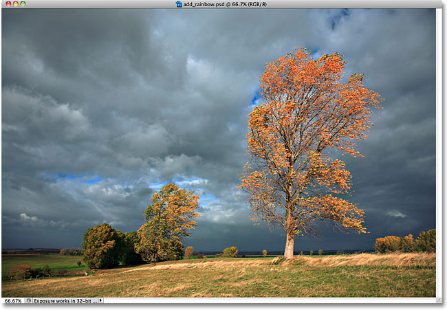 আসল ছবি ফটোশপে দিন রংধনু (Rainbow) ইফেক্ট (স্টেপ বাই স্টেপ টিউটোরিয়াল, ছবিসহ)