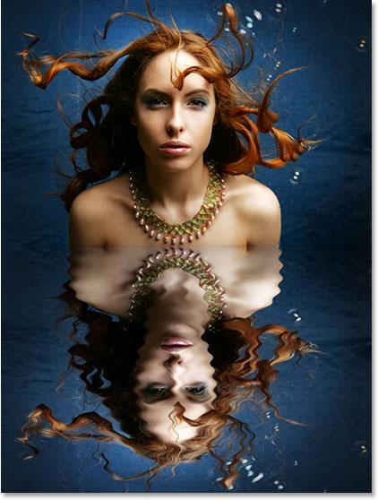 ফটোশপে দিন পানির প্রতিচ্ছবির (Water Reflection Effect ) ইফেক্ট ( স্টেপ বাই স্টেপ টিউটোরিয়াল )