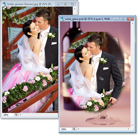 Adobe Photoshop tutorial Photoshop effects image.