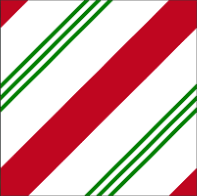 A candy cane pattern created in Photoshop