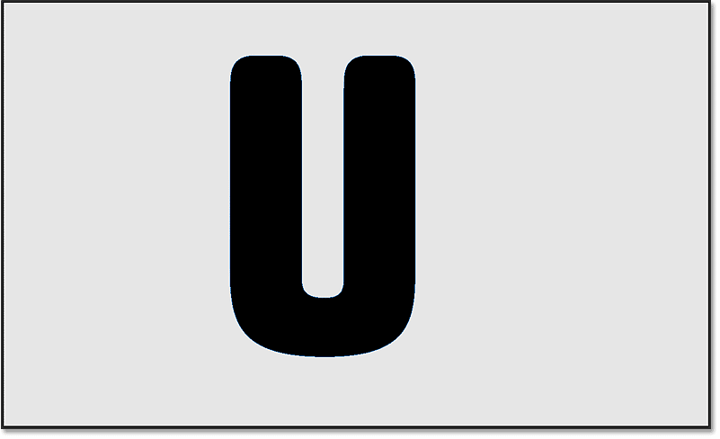Only the second letter in the word remains after deleting the other letters.