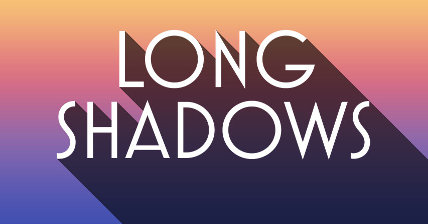 How to create long shadows in Photoshop