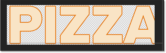 Editing the text inside the sliced effect in Photoshop